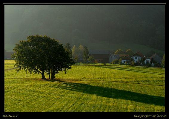 Rodenbach - im Schatten des Simmelsberges