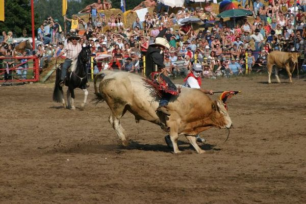 Rodeo 2004 im Emsland