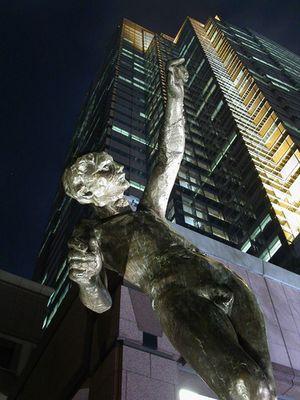 Rodin-Skulptur