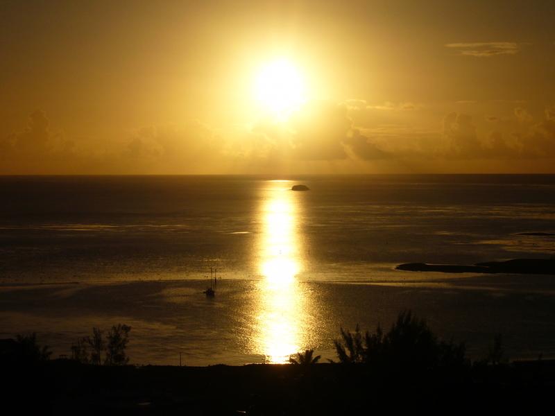 Rodrigues - coucher de soleil