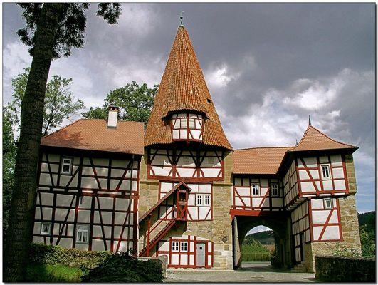 Rödelseer Tor in Iphofen, oft fotografiert ...