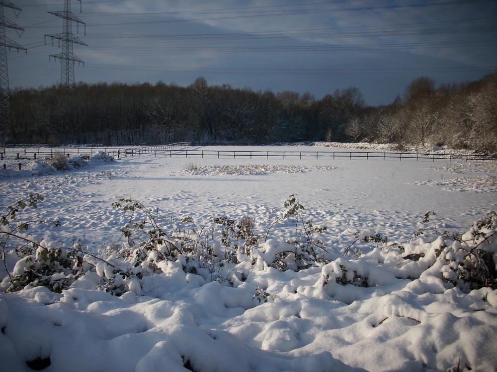 Röhlinghausen im Schnee