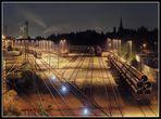 Röhren-Versand-Bahnhof