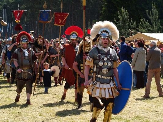 Römerparade