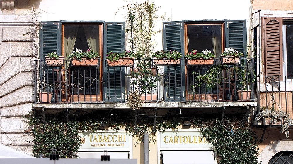 Römische Balkons 2