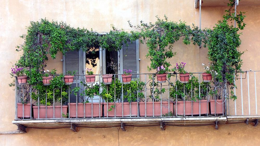 Römische Balkons 3