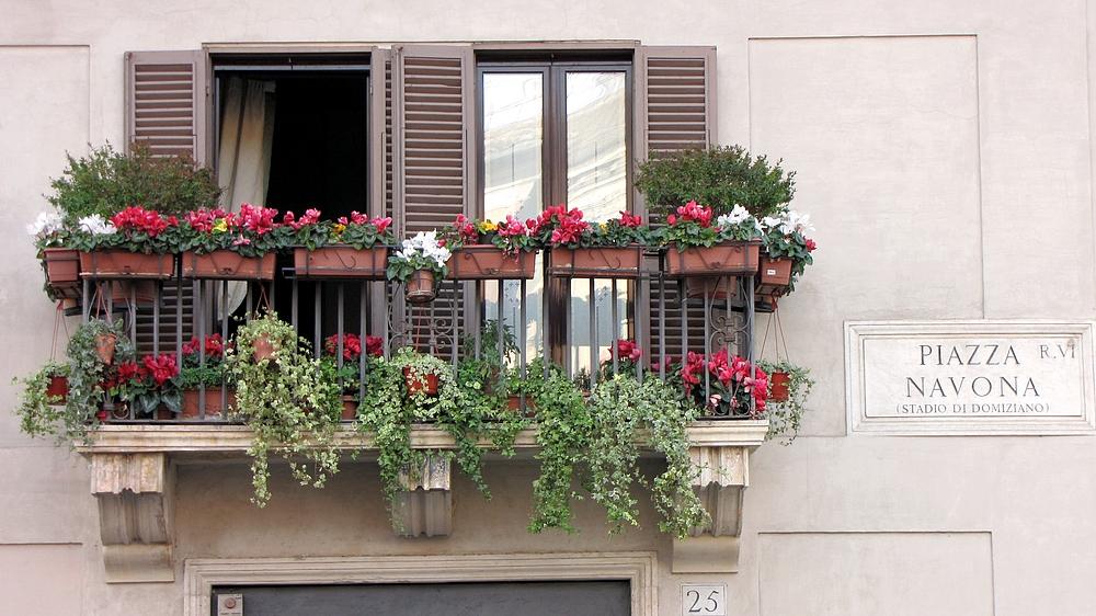 Römische Balkons 4