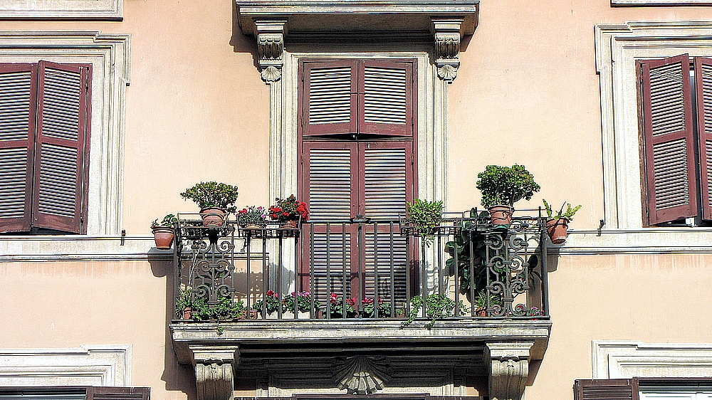 Römische Balkons 5