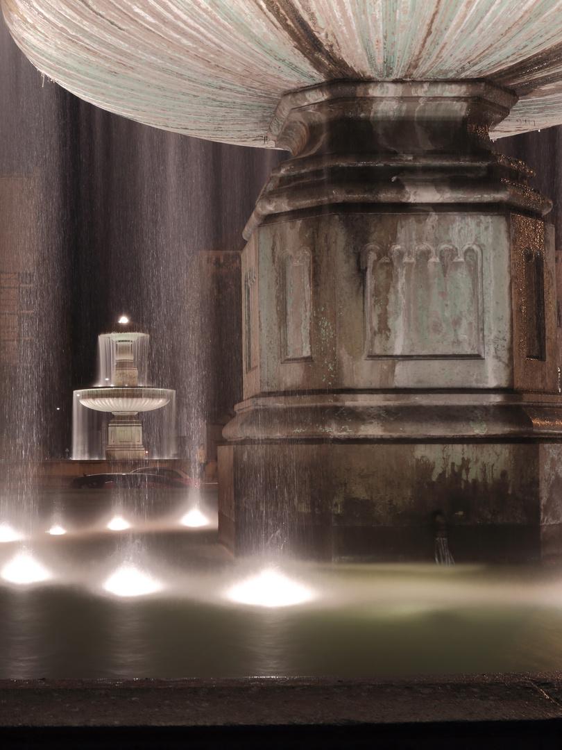 Römische Brunnen, Universität München