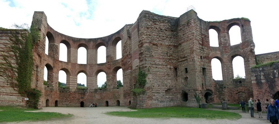 Römische Hinterlassenschaften: Kaiserthermen