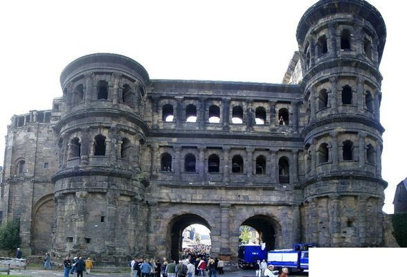 Römische Hinterlassenschaften: Porta Nigra