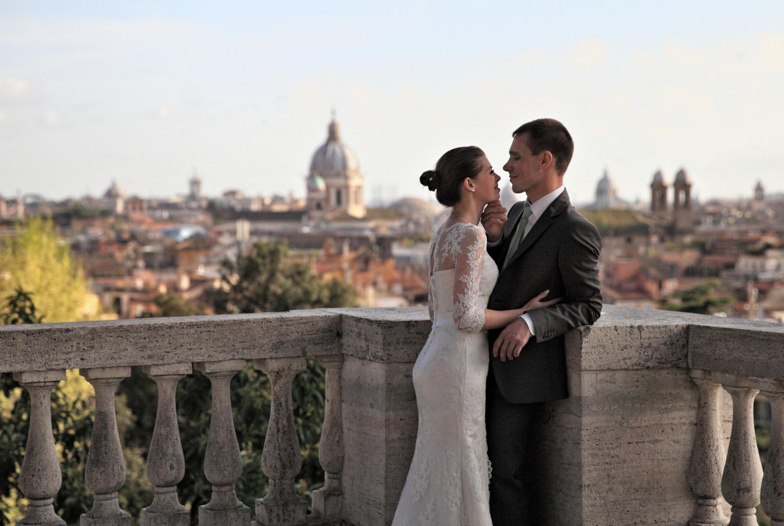 Römische Hochzeit.. (Römische Impressionen..)