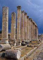 römische Kollonaden in Gerasa, Jordanien