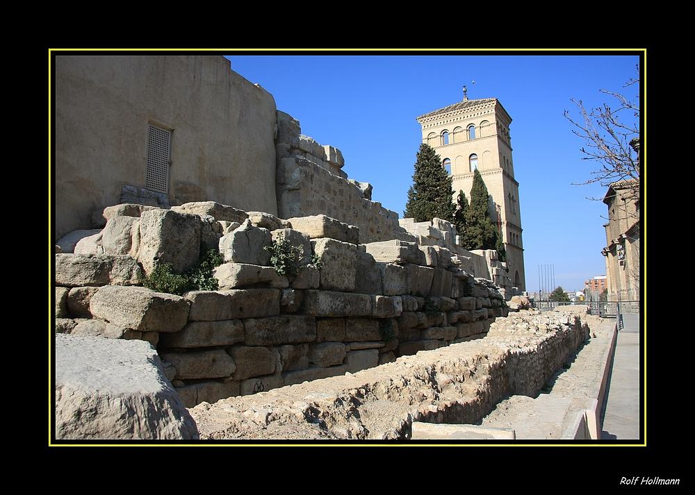 Römische Stadtmauer von Zaragoza / muro romano de Zaragoza