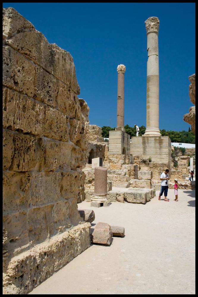Römische Thermen von Karthago IV