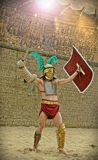 """Römischer Gladiator """"Provocator"""""""