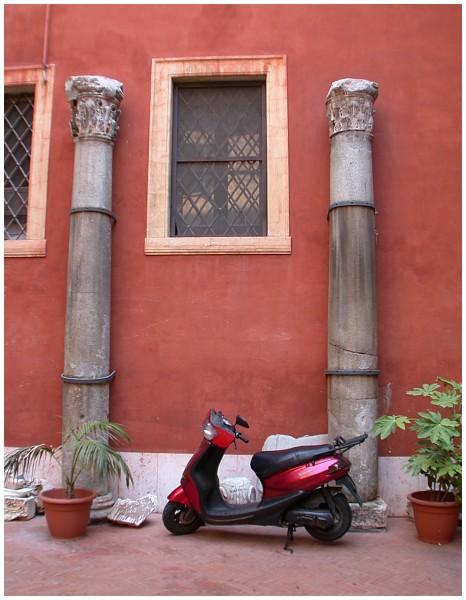 römischer Hinterhof