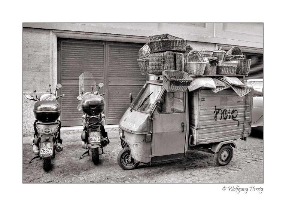 Römischer Lastkraftwagen ...