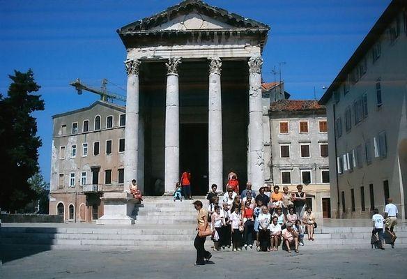 Römischer Tempel in Pula