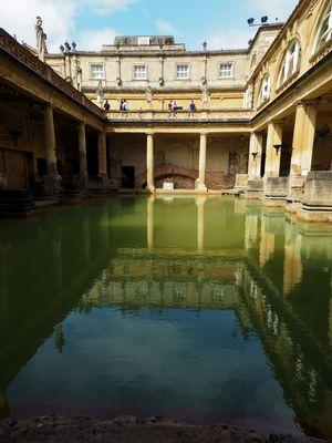 Römisches Bad in der Stadt Bath