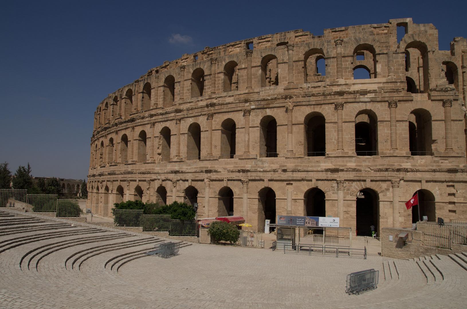Römisches Kolosseum in El Djem