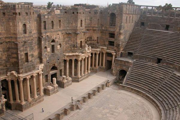 Römisches Theater in Bosra (Syrien)