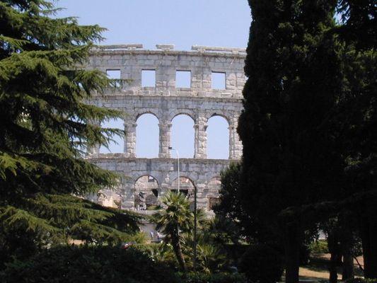 Römisches Theater in Pula