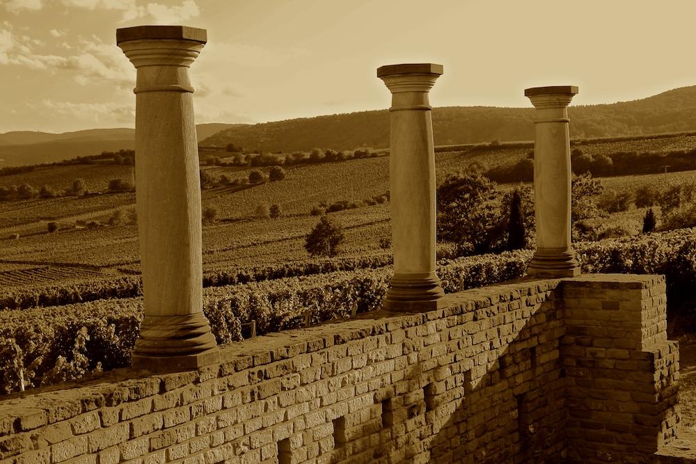 Römisches Weingut Ungstein im 4. Jahrhundert ...