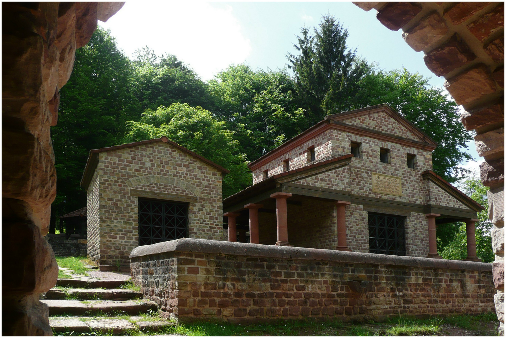Röm.Tempelanlage bei Tawern