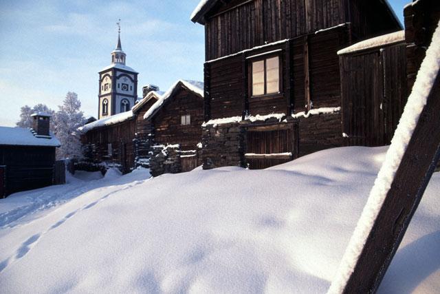 Röros im Winter (bei -34°C)