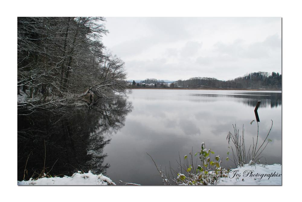 Rösslerweiher im Winter