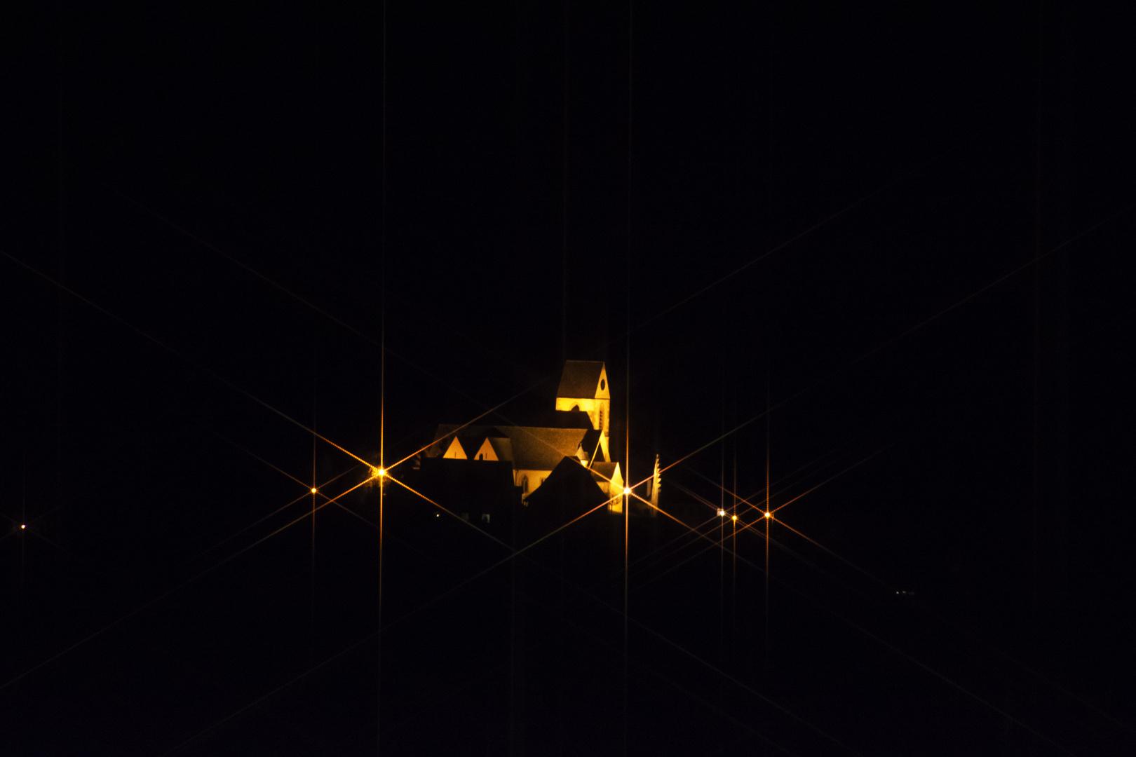 Röttler Kirche by Night