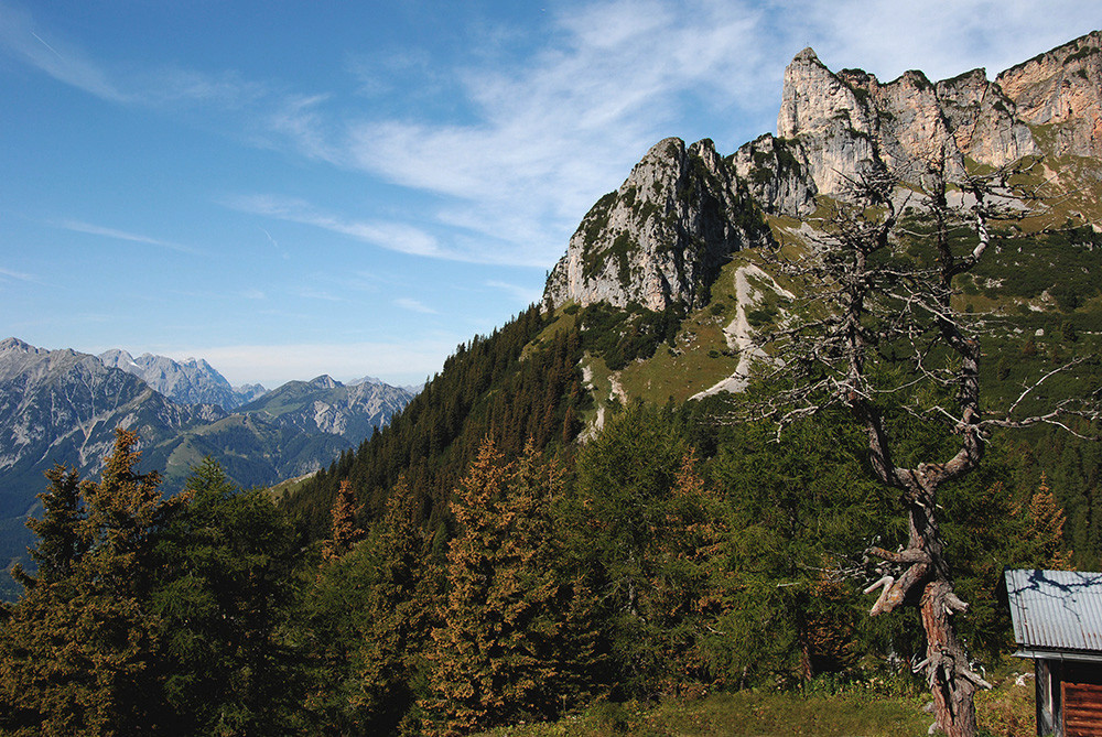 Rofan-Gebirge in Tirol