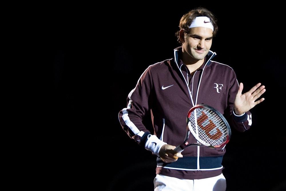 Roger Federer Davidoff Swiss Indoors 2009