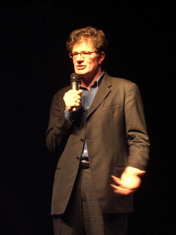 Roger Willemsen im Gespräch mit dem Publikum