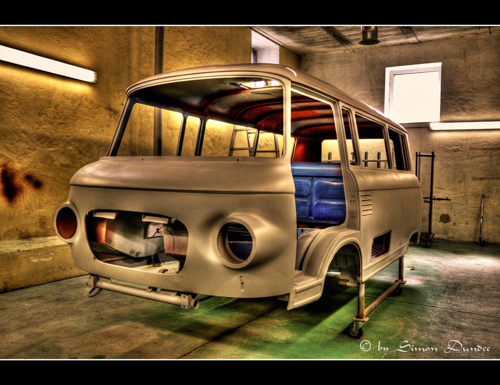 Rohkarosse Barkas B 1000 Bus