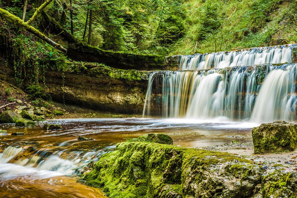 Rohrbachtobel Wasserfall