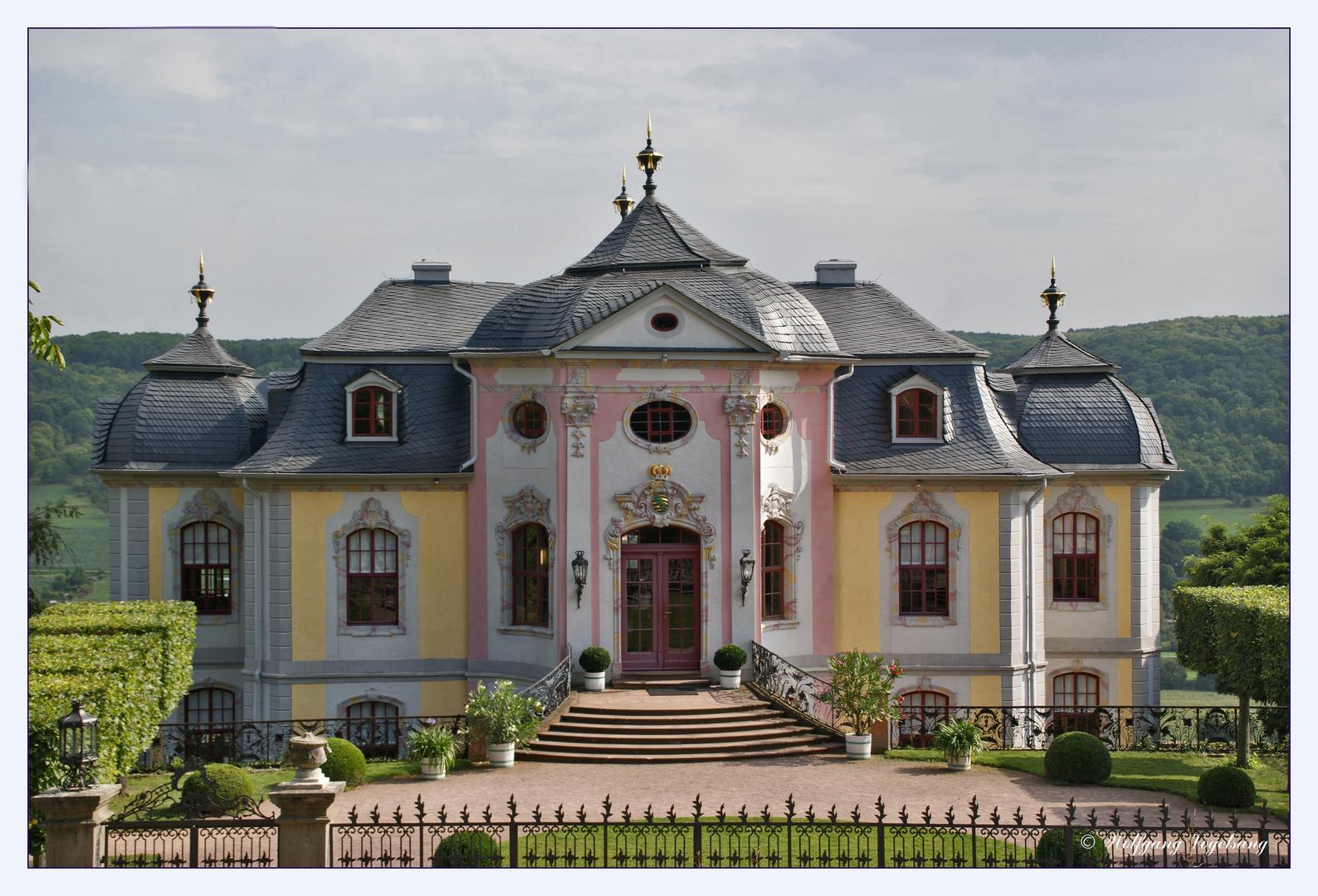Rokoko-Schloss der drei Dornburger Schlösser