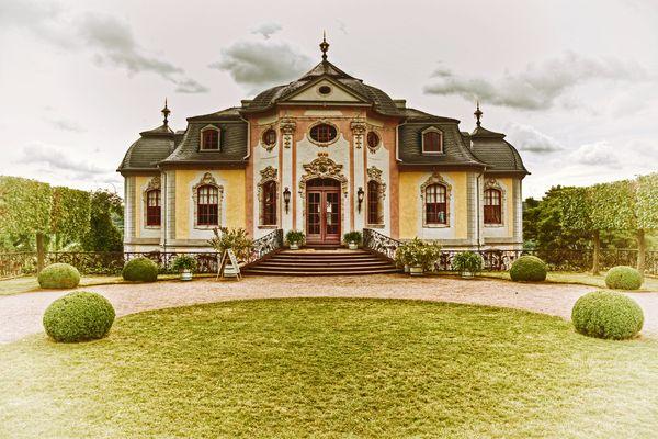 Rokoko-Schloss