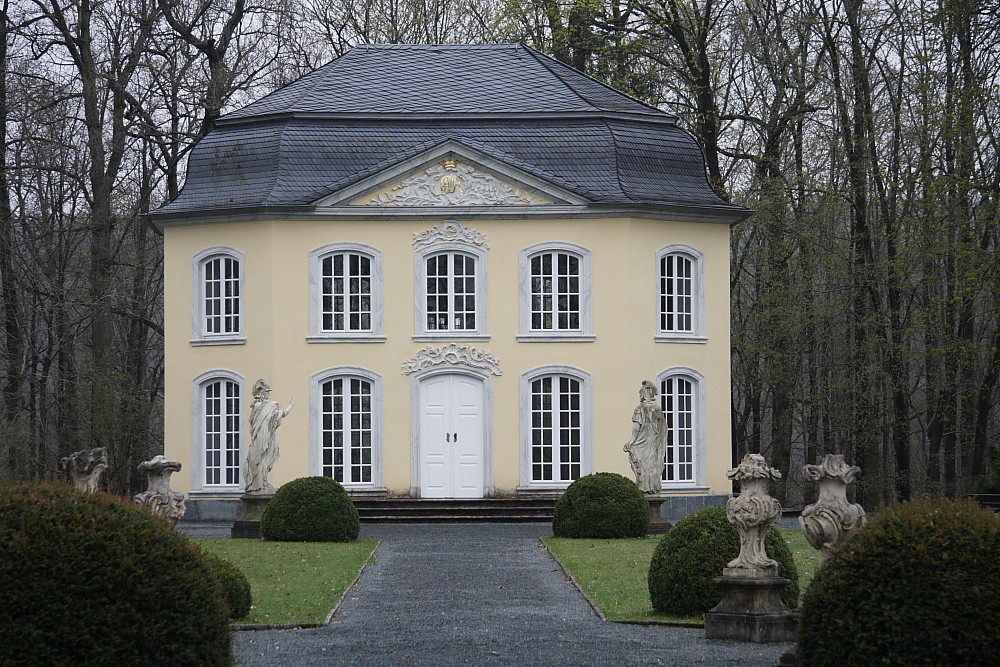 Rokokopalais Schloss Burgk/ Thüringen