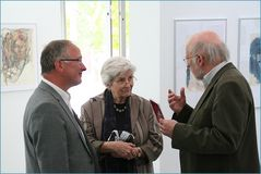 Roland Peter Litzenburger :  Ausstellungsbesucher