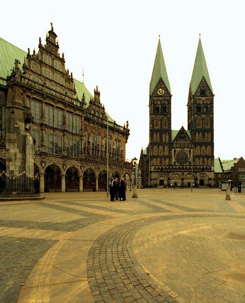 Roland - Rathaus - Dom