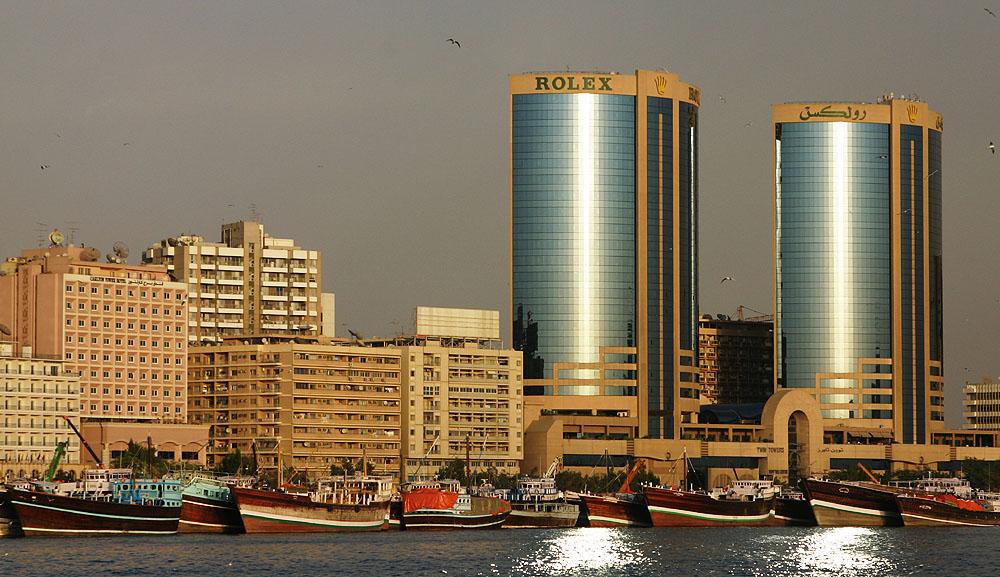 Rolex Twin Towers Dubai