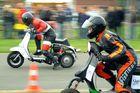 Roller-Beschleunigungsrennen