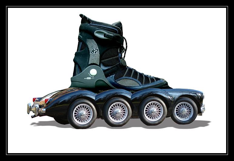 Roller-Skates für den MGA-Fan
