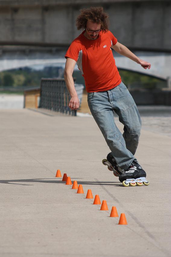 roller slalom 1