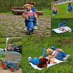 Rollertour mit Picknick