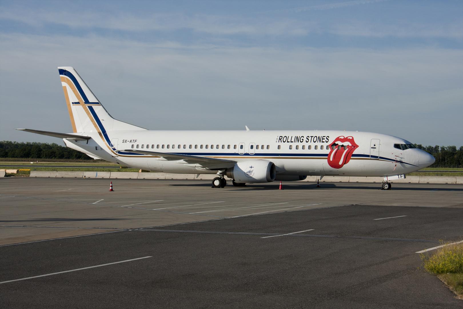 Rolling Stones Boeing 737-406...