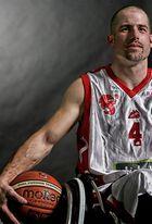 Rollstuhl Basketballer