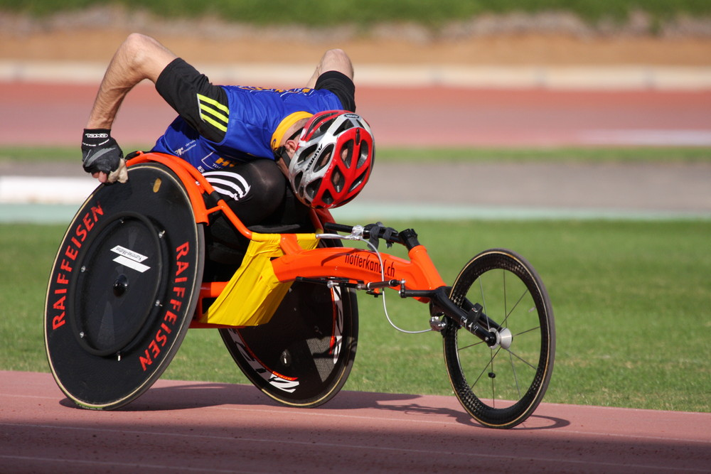Rollstuhl-Leichtathletik